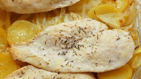 Recetas de pechuga de pollo