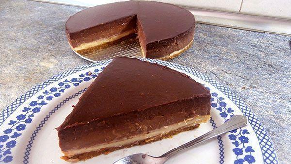 tartas de chocolate fáciles