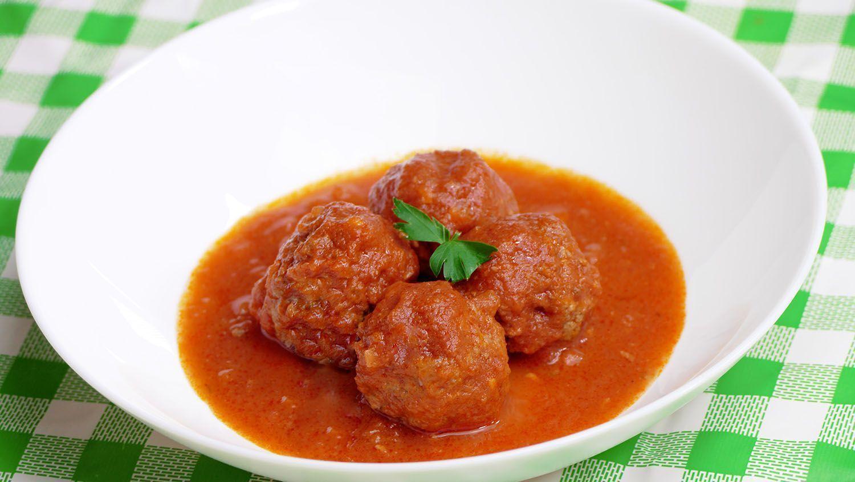 Albondigas Sin Freir En Salsa De Tomate Cocina Casera Y Facil