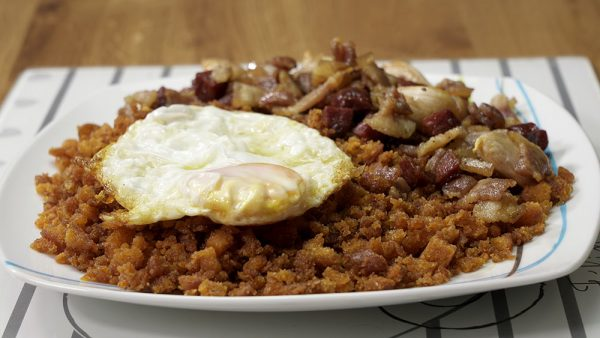 MIGAS DE PAN receta