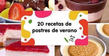 POSTRES DE VERANO